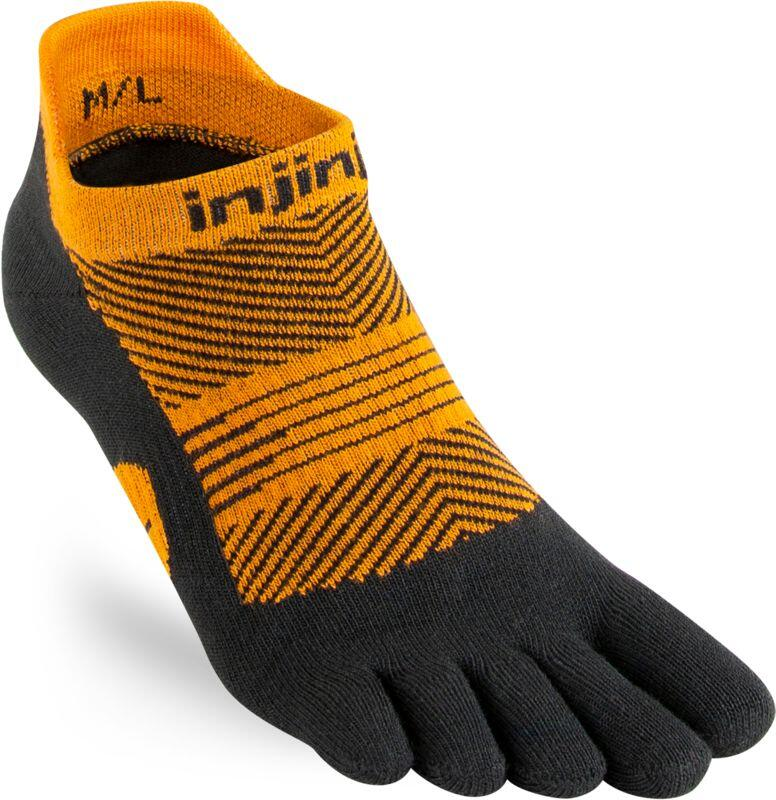 Injinji - women Lightweight No-Show run - coolmax-tiger