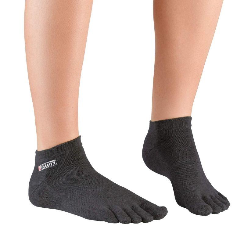 Knitido Track & Trail Ultralite  Zehensocken anthrazit