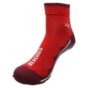 BEACHIES  Wattsocken / Aquasocken  – rot-rot-Welle