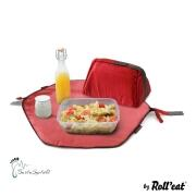 Roll\'eat - Eat\'n\'out Mini Eco Lunchbag, 1.25l rot