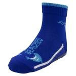BEACHIES Kinder Wattsocken / Aquasocken  – blau-Delfin