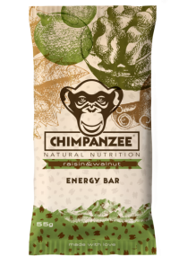 CHIMPANZEE - Energy Bar Vegan raisin&walnut  55g - Energieriegel