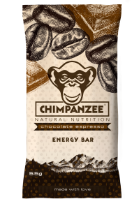 CHIMPANZEE - Bar Vegan Chocolate Espresso 55g - Energieriegel