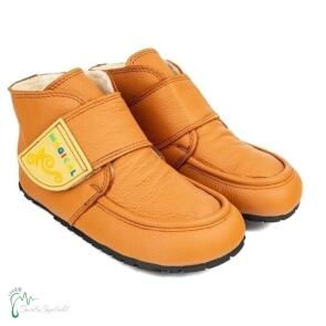 Winter Kinder Barfußschuhe Magical Shoes Ziu Ziu orange-braun