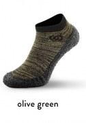 Skinners Socks | Barfussschuhe - Socken mit Sohlen und Zehenschutz - olive green