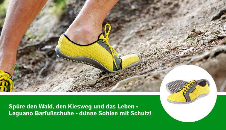 Leguano Barfußschuhe - mit minimalistischer LIFOLIT® Sohle als Schutz vor unangenehmem Untergrund!